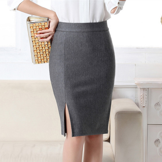 2017 New Women Formal Work Wear Skirts Ladies Sexy High Waist Mini Pencil Skirt 7 Colors Stretch Package Hip SP5602