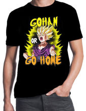 Dragonball Z Gohan Or Go Home Training Saiyan Gym Weights Workout Black T-Shirt Free shipping сумка printio training to go super saiyan