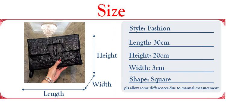 Envelope Handbag PU Leather