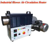 380V Industrial Blower Air Circulation Heater Stainless Steel High Temperature Fan For Factory,Thermostatic Chamber F1 R1055