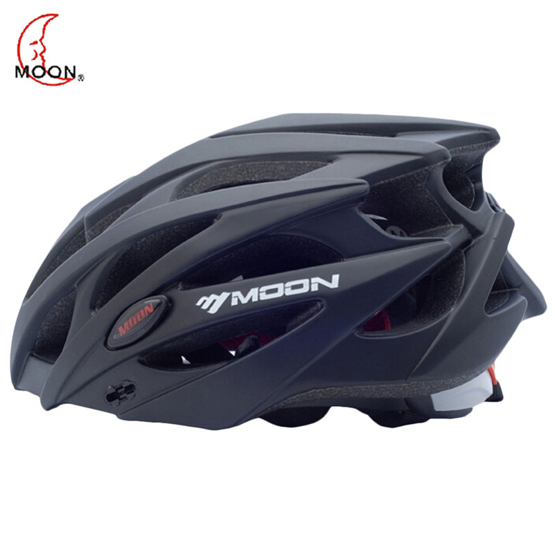 MOON Bicycle Helmet For Men Ultralight MTB Bike Helm Cycling Road Safety Helmet Fietshelm Heren Cascos Ciclismo Cycling Helmet moon mv 88 gj outdoor cycling bike helmet black red size xl