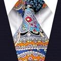 A20 Многоцветный Абстрактные Цветочные Шелковые Галстуки для мужчин Новинка Свадебной Моды Мужчины Галстук Галстук Новый Галстук мужской