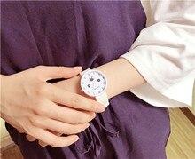 Новинка 2017 мультфильм кварцевые часы модные детские часы для девочек студент кожа подарок женские часы лучший бренд класса люкс