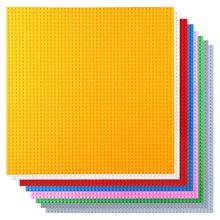 50*50 очков маленькие строительные блоки опорная пластина 40*40 см маленькие кирпичи опорная пластина строительные игрушки для детей Совместимые Legoed