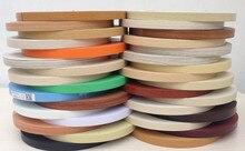 Ribete de chapa prepegado, recortador de bandas de borde de PVC, tabla de armario de cocina de madera, cinta de borde de 3cm x 50m