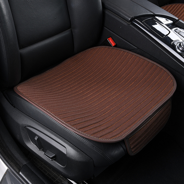 aliexpress com buy universal car seat cover anti slip breathableuniversal car seat cover anti slip breathable mesh summer auto seat protector front automobile seat cushion pad mat four seasons