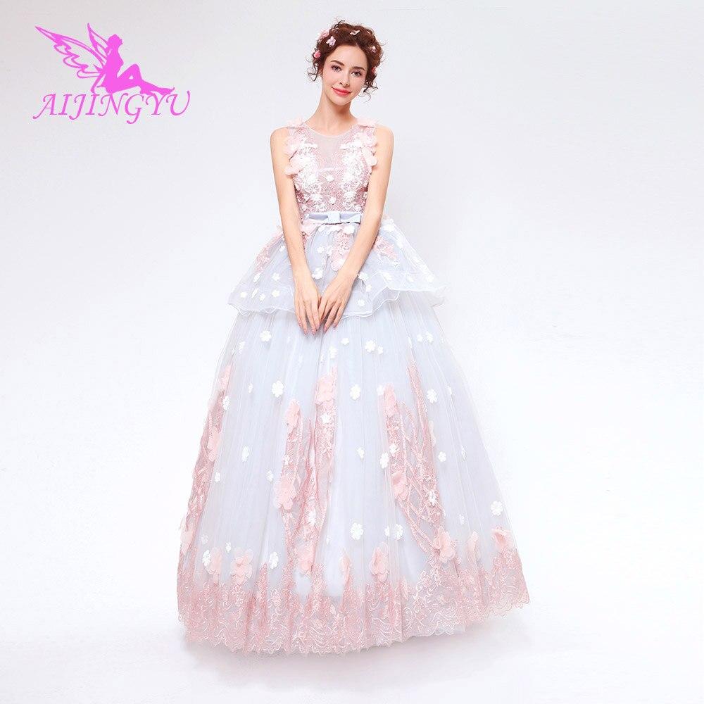 AIJINGYU 2018 nouvelle livraison gratuite chine robes de mariée pas cher simple robe de mariée sexy femmes fille robes de mariée robe TS125