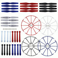 NEW 4 x Landing Gear + 4 x Protect Ring + 4 x Propeller pare Parts Set for Syma X5HW X5HW RC Quadcopter Drones