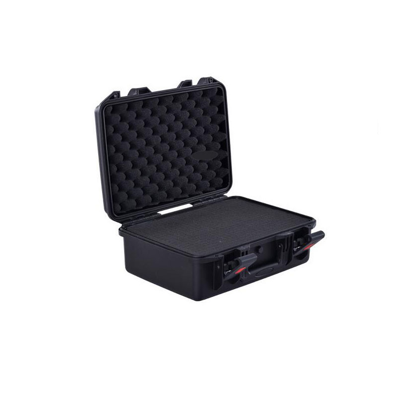 Lightweight easy carry high impact plastic waterproof hardcase with foam