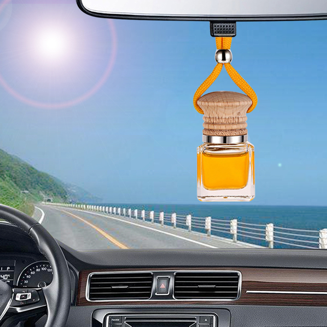 Car Air Freshener Automobiles Perfume Smell Odor Hanging Bottle Pendant Scent Diffuser Air Freshener In The Car Accessories Gift