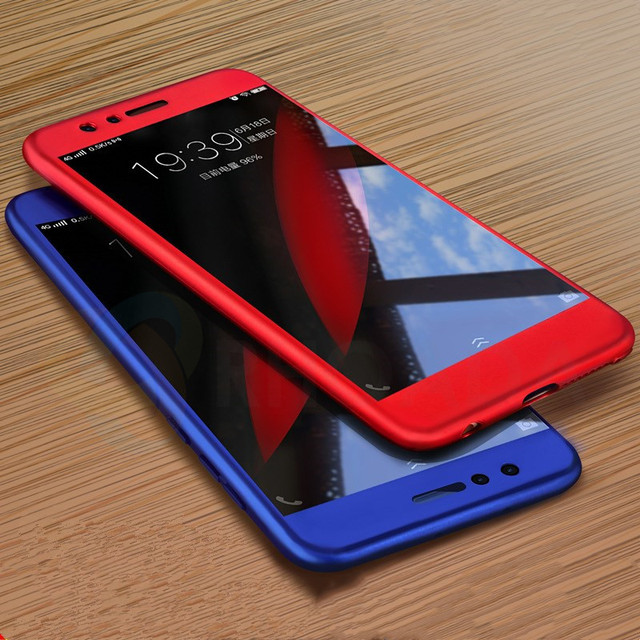 size 40 a8fc2 8dc89 US $3.03 15% OFF|RHOADA 360 Degree Full Body Coque Case for Huawei Enjoy 8E  Honor 7A Pro Hybrid Back Cover+Tempered Glass-in Fitted Cases from ...