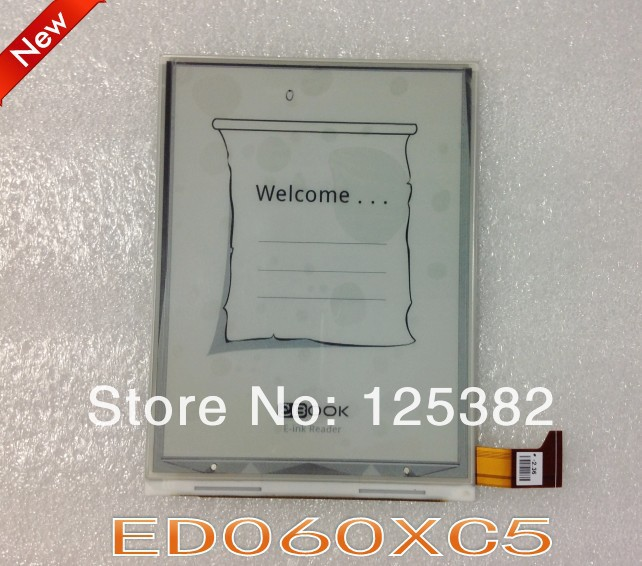 ФОТО 100% new original ED060XC5 (LF) LCD display, E-ink screen for e-book readers, free shipping