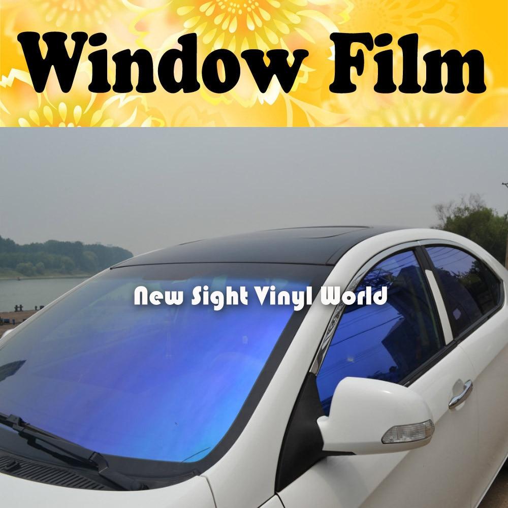 Vlt 70 High Quality Purple Blue Chameleon Car Window Tinting