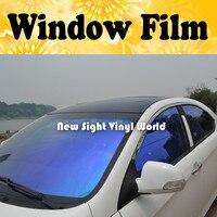 VLT 70% High Quality Purple Blue Chameleon Car Window Tinting Chameleon Car Window Film For Car Window Size:1.52*30m/Roll