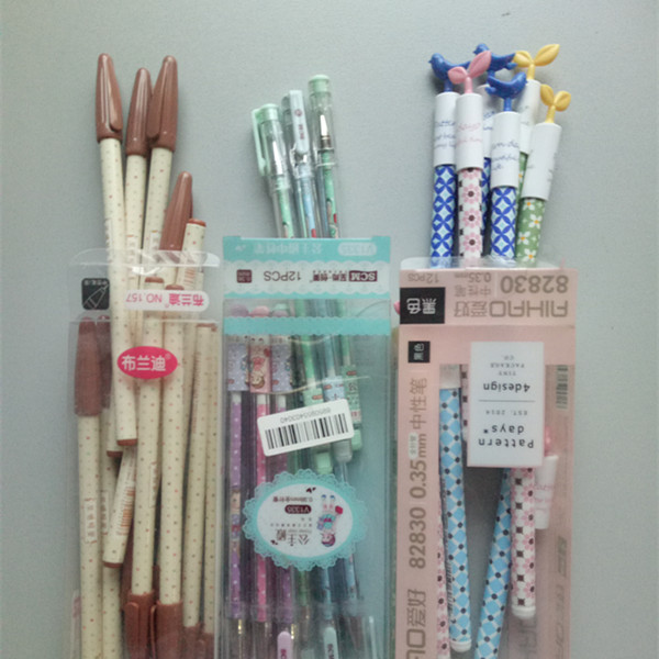 7cf0d5bdc2 ▻4pcs lot Kawaii 3D Japan Cartoon Series Gel pen Students ...