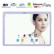 ZDX Phone Call 10.1 inch 3G 4G Lte Tablet PC quad Core 4GB RAM 32GB ROM Dual SIM Card Android 5.1 IPS pc tablet 10