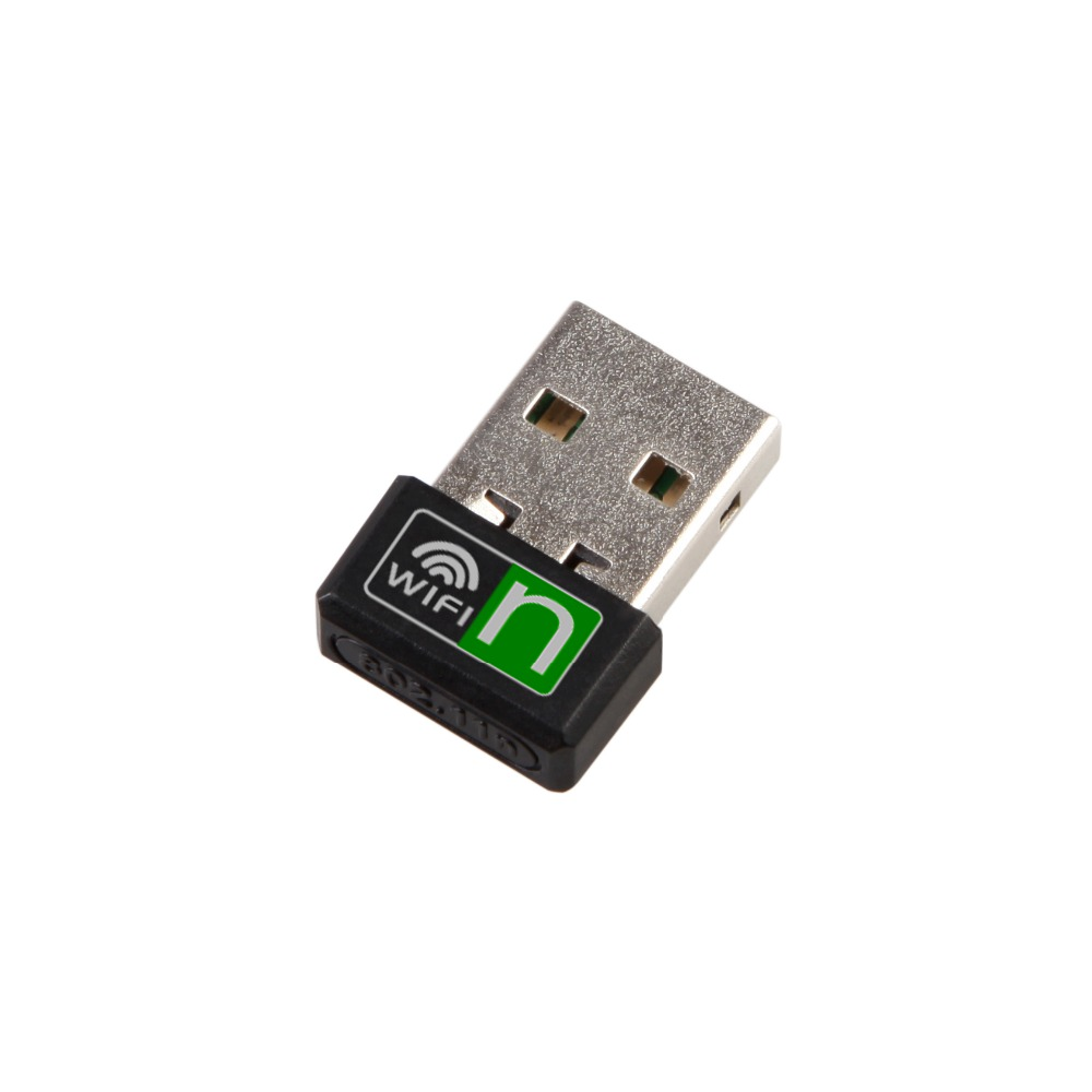 Relper-Lineso Nano Wifi Antenna Wireless Adapter Network Mini USB LAN Dongle Portable wifi receiver with CD driver