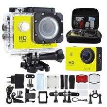 GOLDFOX Motion Digicam Full 1080P WiFi Sport Digicam 30M Waterproof Professional Outside hd dv cam helmet camcorder