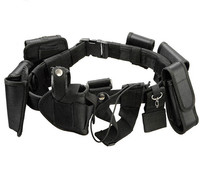 Tactical Combat Airsoft Hunting Police Pouch Belt Nylon webbing Strengthening Trainer Pouch Waistband tactical waist support