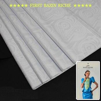 african bazin riche fabric High quality bazin riche getzner guinea brocade bazin riche fabric Shadda With Perfume B180514