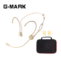 G MARK Professional Headset microphone For Wireless System transmitter headband microphone with 1 box sound Sensitive and clear