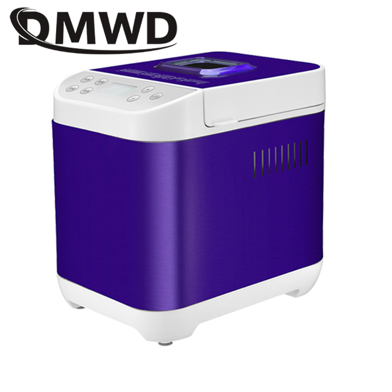 DMWD Automatic Multifunction mini Bread Maker Intelligent User-Friendly Bread baking Machine Breadmaker Cooking Tools 400w цена 2017