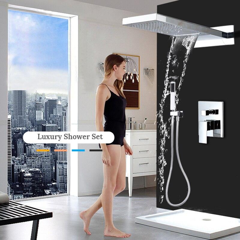 Bathroom Shower Faucet set 8