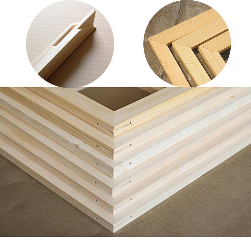 Aliexpress Com Buy Drop Shipping Wood Frame For Canvas