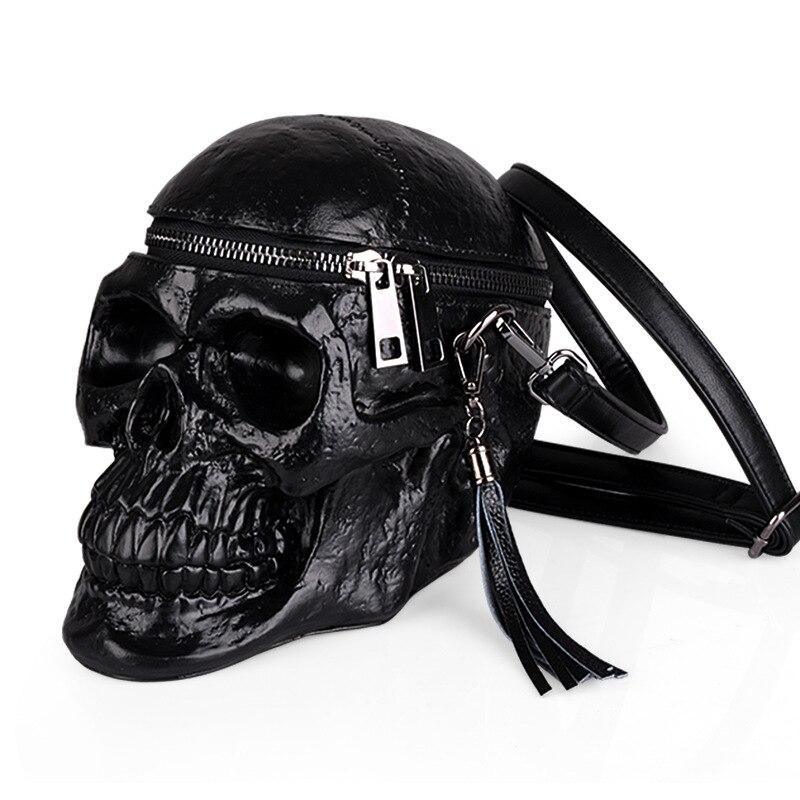 Bag for Cool Girls Leather Bag Gothic Messenger Bag Black Skull Shoulder Bag Casual Special PU Leather Bag for Cool Girls Leather Bag Gothic Messenger Bag Black Skull Shoulder Bag Casual Special PU Leather