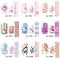 14Tips/Pc Fashion Nails Sticker Hellokitty Pattern Design Full Cover Nail Art Stickers QJ1081-1094