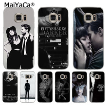 MaiYaCa Fifty Shades of Grey darker Coque Shell Phone Case for Samsung S5 S6 S7 Edge 220x220