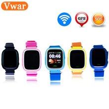 Original Q90 GPS teléfono posicionamiento niños relojes con WIFI SOS  inteligente bebé reloj Anti Lost Monitor a0650ed729bc