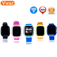 Original Q90 GPS Phone Positioning Fashion Children Watch 1 22 Inch Color WIFI Touch Screen SOS
