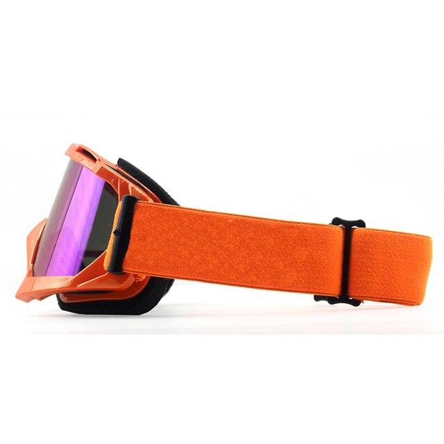 Óculos para motociclismo atv mtb, óculos à prova de vento para motociclismo, bicicleta 4