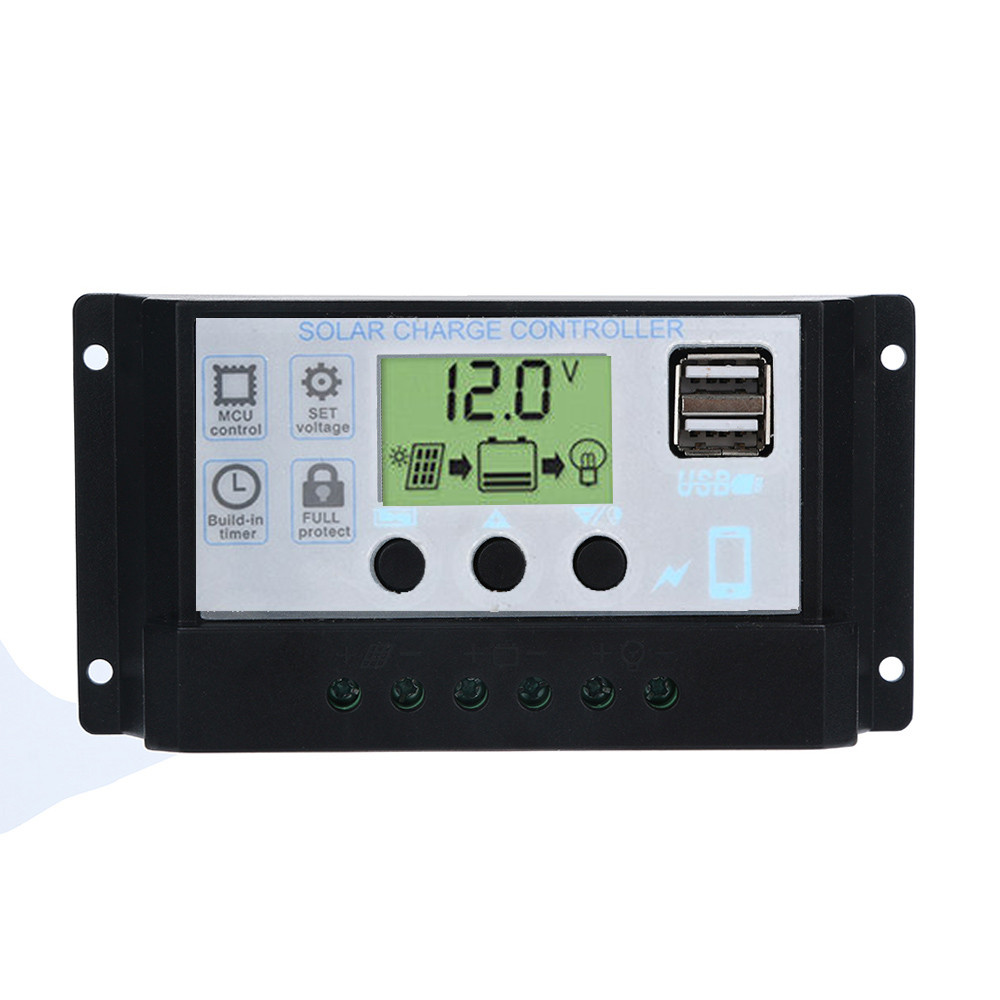 Chargers Accessories & Parts Chargers Solar Panel Regulator Charge Controller 12v 24v Auto Work Pwm Usb 10a/20a/30a/40a/50a/60a 12v-24v With Dual Usb 18oct18 To Have A Long Historical Standing