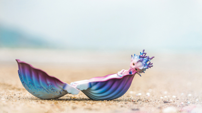 1 8 bjd Coral or seashells toys model girls nude high quality doll give up toys