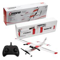 DIY RC Plane Toy EPP Craft Foam Electric Outdoor Remote Control Glider FX 801 Remote Control Airplane DIY Fixed Wing Aircraft