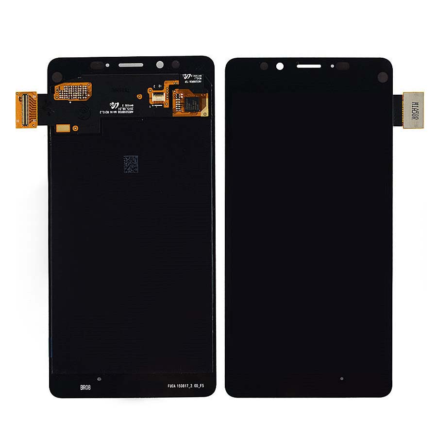 Подробнее о Black LCD Display + Touch Screen Digitizer Assembly Replacement For Microsoft Lumia 950 Free Shipping for meizu m2 mini lcd touch screen digitizer display 5 0 cellphone black color free shipping digitizer assembly replacement