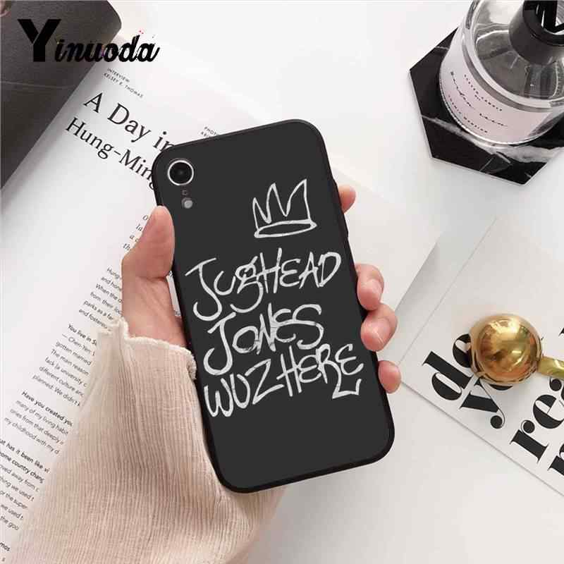 Yinuoda Американский ТВ ривердейл Jughead Jones Cole Sprouse чехол для телефона iPhone 8 7 6S 6Plus X XS MAX 5 5S SE XR 10 11 pro max