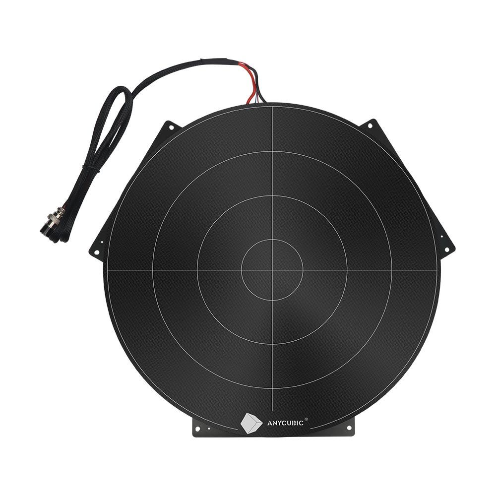 Anycubic 430x410mm Chiron 3D Printer Ultrabase Hotbed 12V//24V Plateform Plate