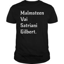 Funny Men t shirt  novelty tshirt Yngwie Malmsteen Steve Vai Joe Satriani Paul Gilbert Shred Guitar Shirt cool T-Shirt steve vai córdoba