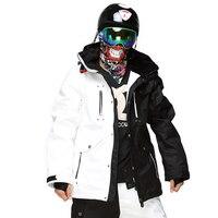 Гарантируем подлинность! Мужские лыжные куртки Для мужчин, Термальность Cottom мягкий сноуборд 2018 новые высококачественные Для мужчин лыжная