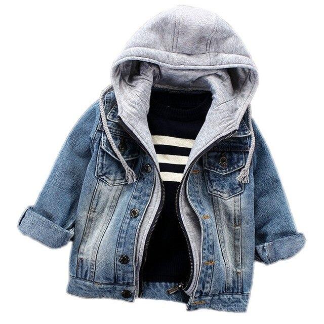 niño despeje zapatos genuinos € 18.15  Abrigo infantil para niños primavera otoño 2019 chaquetas para  bebés para niños chaqueta vaquera con capucha abrigo para niños ropa para  ...
