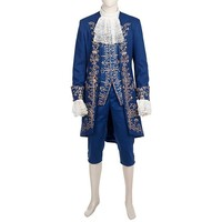 Prince Beast Cosplay Costume Beauty And The Beast 2017 Movie Costume For Halloween Dan Stevens Medieval