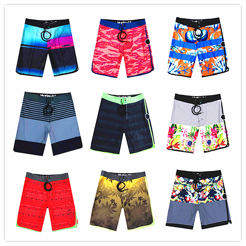 Free Shipping Boardshorts 2019 Brand Phantom Elastic Board Shorts Men Quick Dry Beach Shorts Sexy Mens Hawaiian Shorts Swimwear
