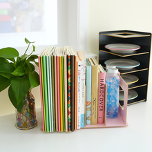 Творческий DIY деревянный стол коробка журналов и книг organizebookshelts офисное хранение файл Книга лоток стол аксессуары Органайзер