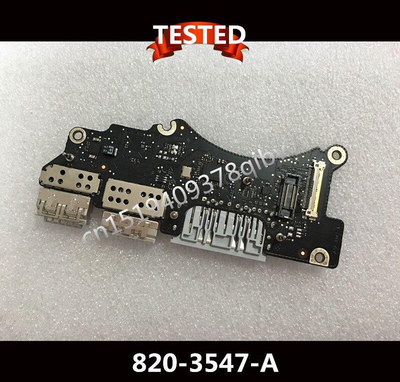 For 15 MacBook pro retina A1398 IO Board USB Board Power board 820 3547 A 2013