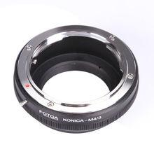 Adaptador de lente fotga anel para konica ar converter para olympus panasonic micro 4/3 m4/3 E P1 g1 gf1 latão