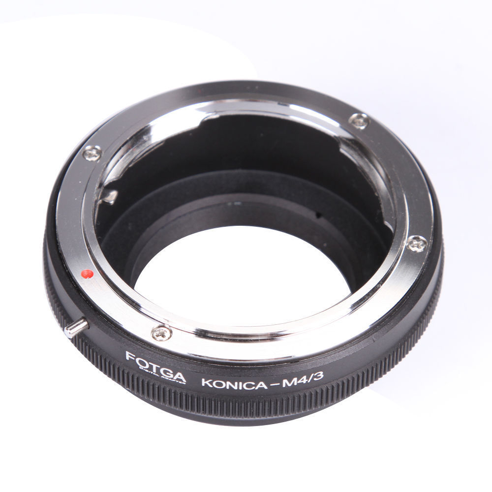 FOTGA Lens Adapter Ring for Konica AR Convert to Olympus Panasonic Micro 4/3 m4/3 E-P1 G1 GF1 brass
