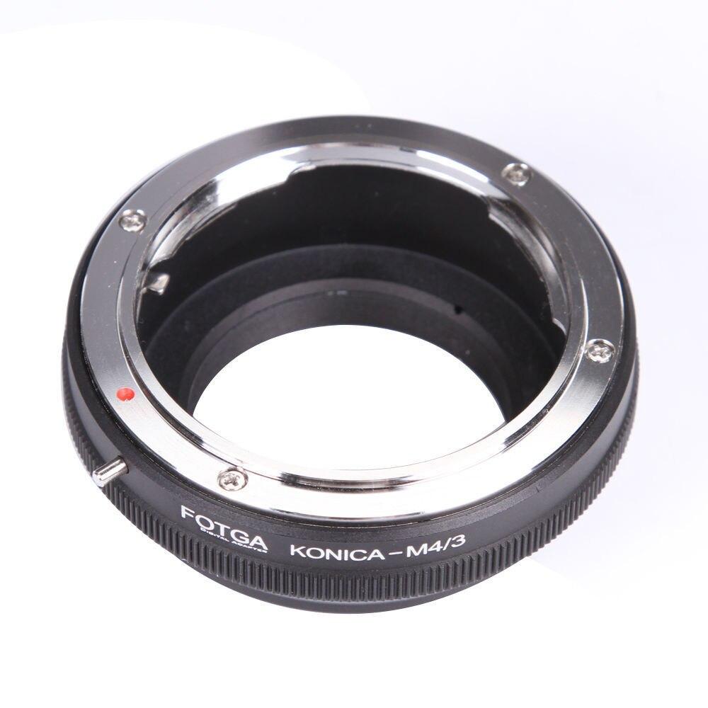 FOTGA lente anillo adaptador para Konica AR convertir a Olympus Panasonic Micro 4/3 m4/3 E-P1 G1 GF1 latón